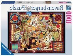 Ravensburger 1000pcs The Old Game Kids Puzle Educational Adu