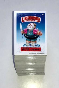 2018 Horrible Kids Horror Parody Garbage Pail Kids Sticker C