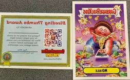 """2019 Garbage Pail Kids REVENGE OF OH THE HORROR-IBLE """"MO BIL"""
