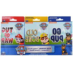 Paw Patrol 3 Card Game Value Pack