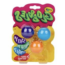 Crayola 3ct Globbles Squeeze Toy for Kids - Assorted Colors