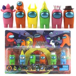 6PCS/Set Among Us Action Figures Collection Dolls Game Toys