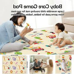 Activity Floor Play Mat Rug Child Infant Baby Kids Crawling