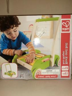 Hape BLOCK AND ROLL Pre-School Young Children Toddler Wooden
