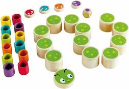 caterpillar memo kid s memory bamboo game