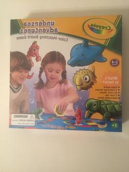 Crayola Undersea Adventures Color - Matching Board Game NIB