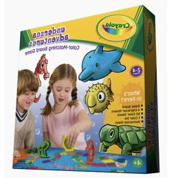 crayola undersea adventures matching board