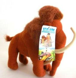 "Ice Age Dawn of the Dinosaur Manny Mammoth Plush Doll 7"" New"