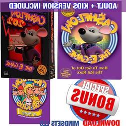 E-GAME CASHFLOW 101 & 202& Kids& Huge BONUS Robert Kiyosaki