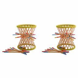 Hape Eco Design Bamboo Sticks and Tumbling Ball Balance Pall