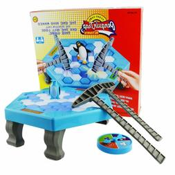 Family Game Don't Break the Ice Penguin Trap Toys Kids Par