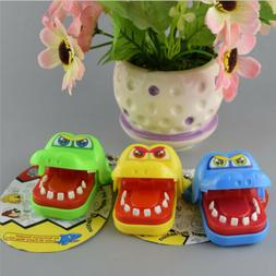 Funny Big Crocodile Mouth Dentist Bite Finger Toy Family Gam