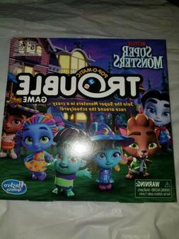 Hasbro Games Trouble: Netflix Super Monsters Edition Board G