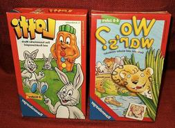 Ravensburger German Kid's Games Wo War's?  and Lotti