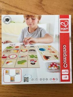 NEW Hape HAP-E6313 Home Education Combino Game NIB