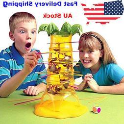HOT Falling Tumbling Monkey Family Toy Climbing Board Game K