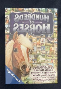 HUNDREDS of HORSES  Ravensburger  Children's Game - NEW  Sea