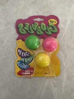 IN HAND Crayola 3ct Globbles - Fidget Toy for Kids - Assorte