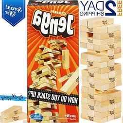 Jenga Classic Game Stacking Wooden Falling Tumble Blocks Tow