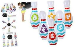 JOYIN Giant Inflatable Bowling Set for Kids and Adults Get-T