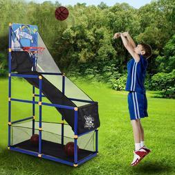 Kids Basketball Circle Arcade Shooting Game Toddler Stand To