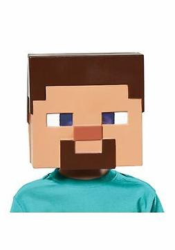 Kids Minecraft Steve Vacuform Mask