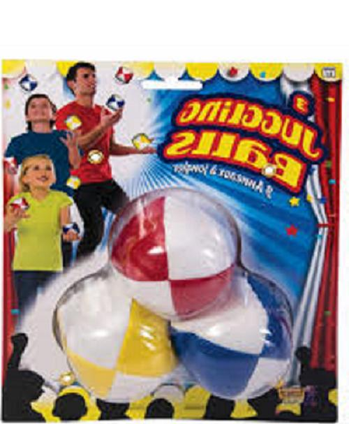 3 pk juggling balls by novelties circus