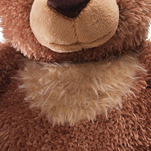 GUND Slumbers Teddy Stuffed Animal Plush, Brown, 17""