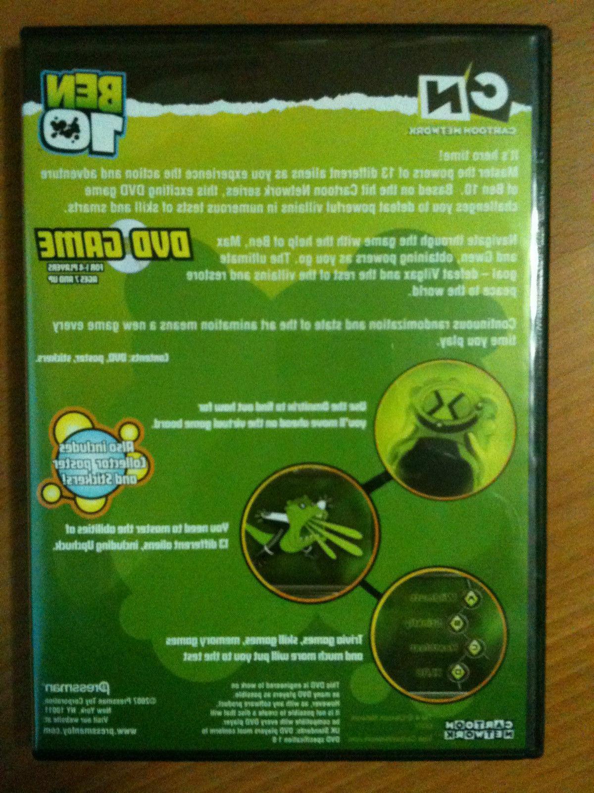 Ben Dvd 1-4 players Kids Family Game