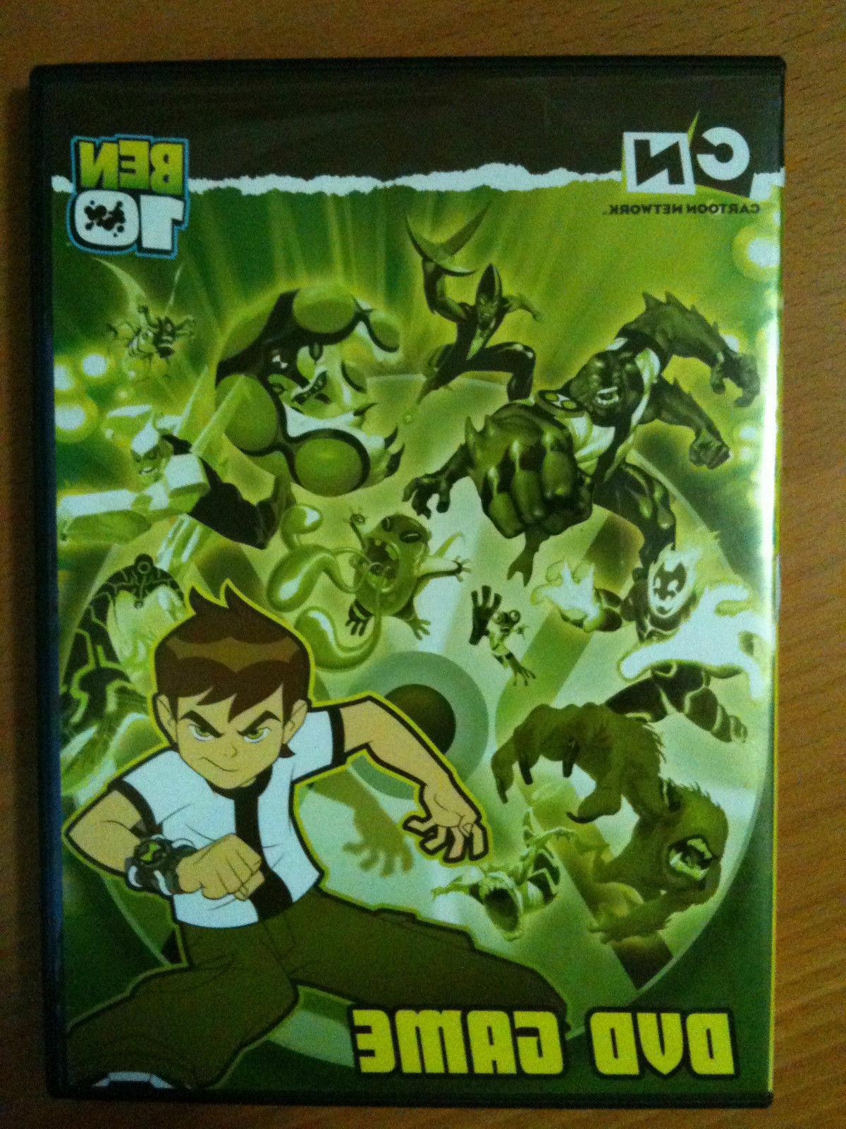 ben 10 game interactive dvd 1 4
