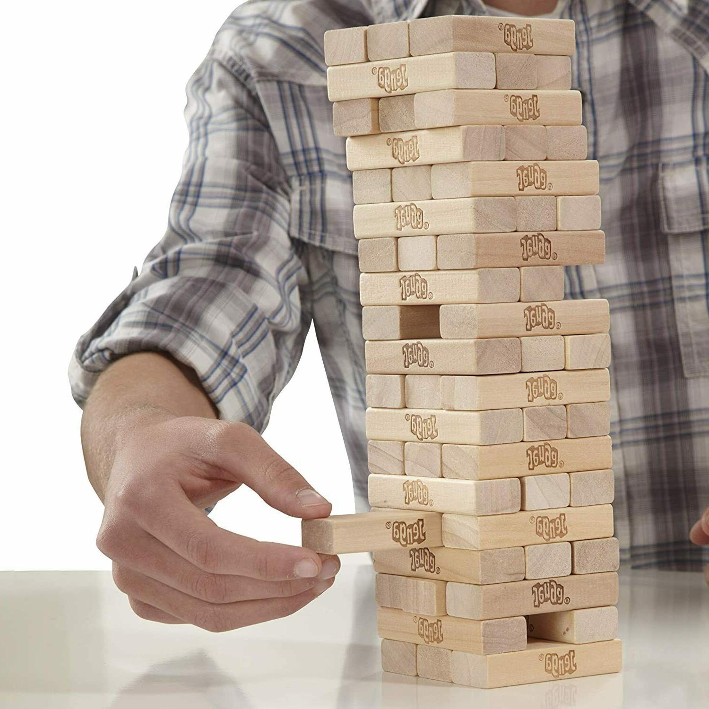 Tabletop Jenga Classic Game Wood Stacking Game Blocks Pcs