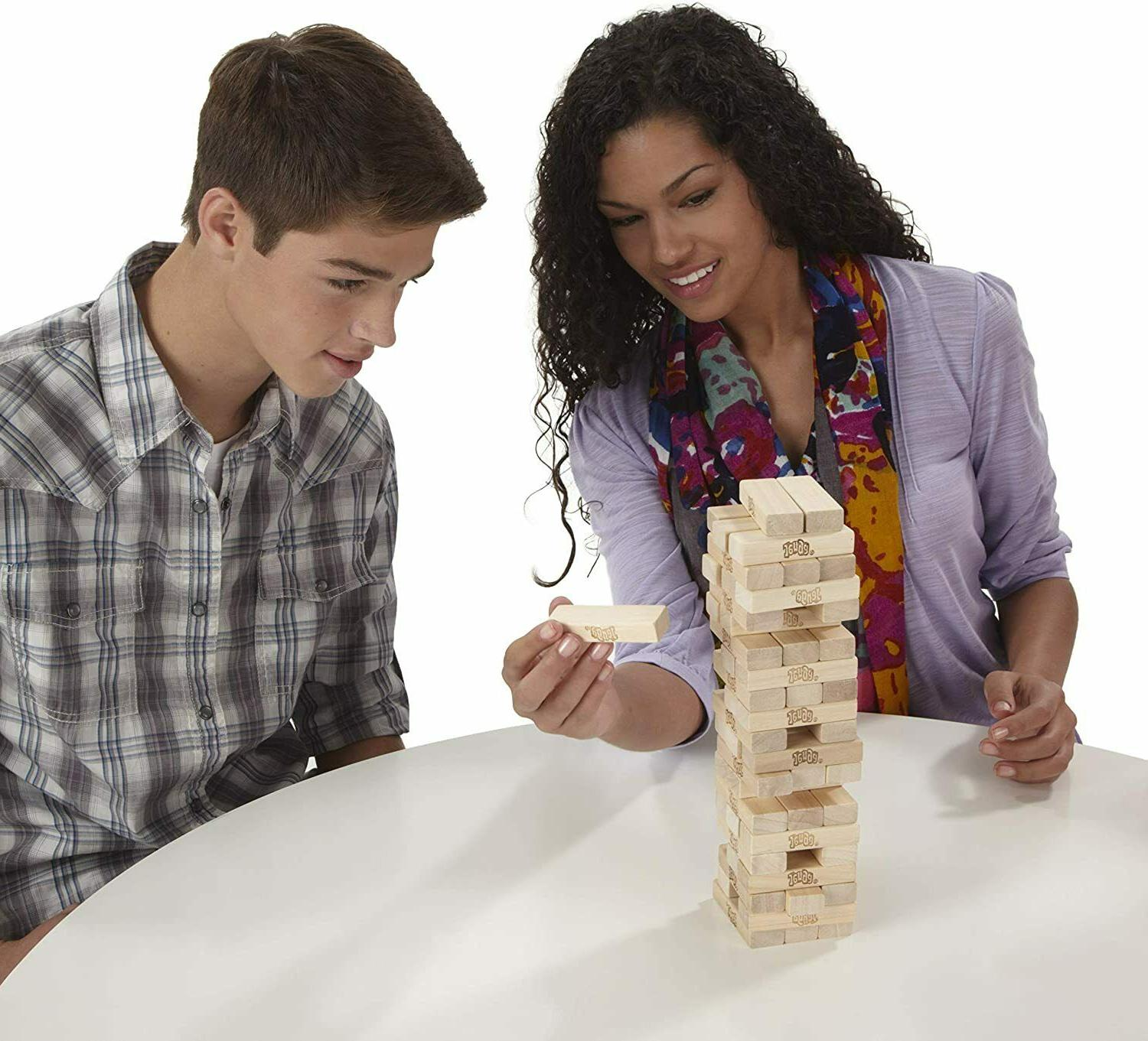 Tabletop Wood Stacking Party Fun Pcs