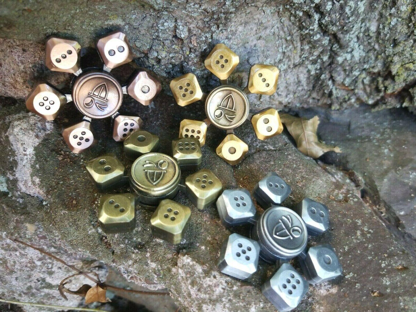 Craps Fidget Spinner Good Luck Adult Toys Kids 🤏