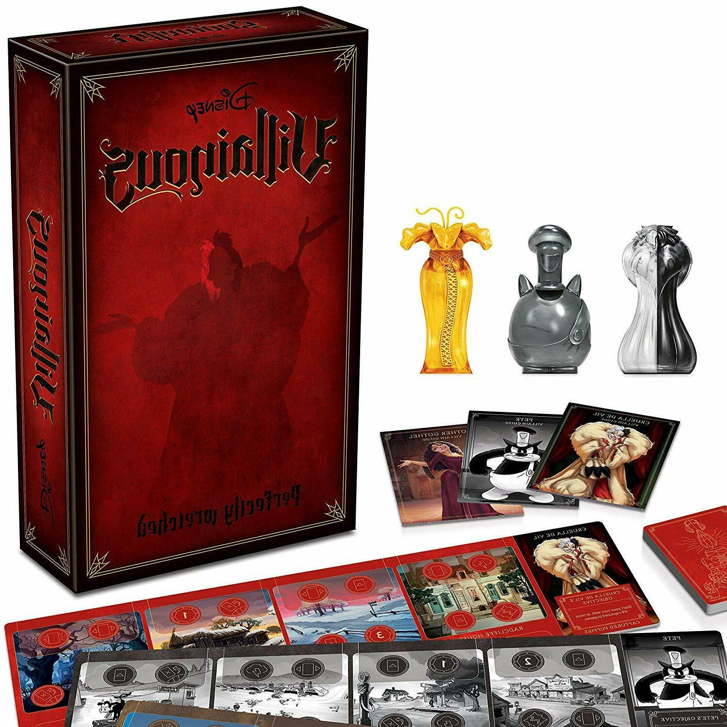 disney villainous perfectly wretched strategy board game