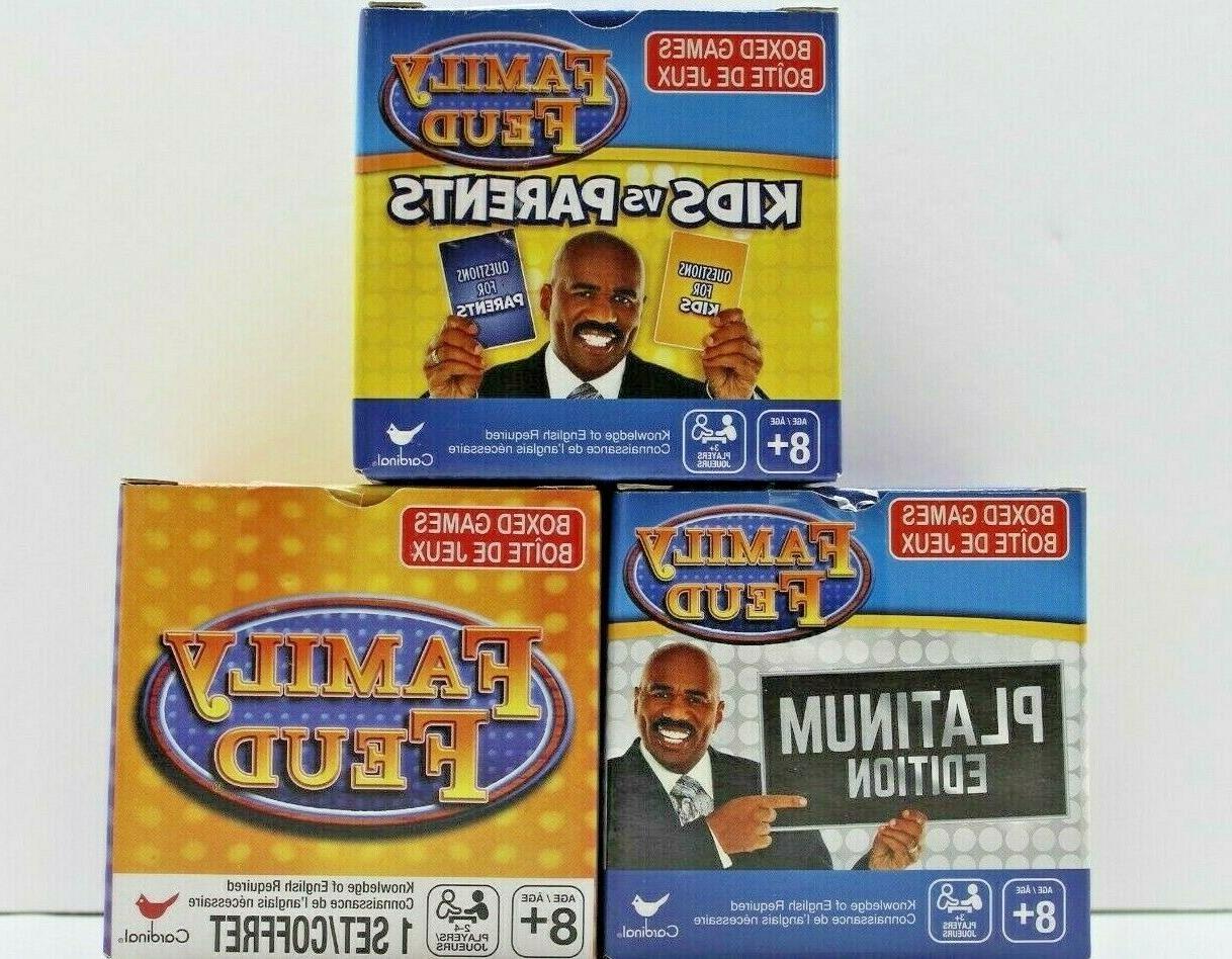 family feud boxed card games original platinum
