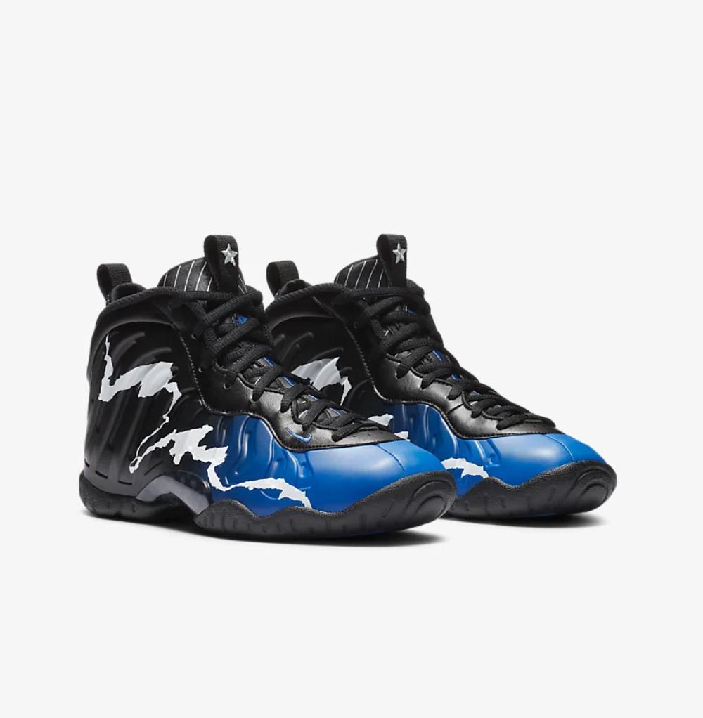 Nike Foamposite Little One Blue Star