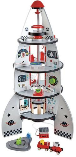 four stage rocket ship pre school young