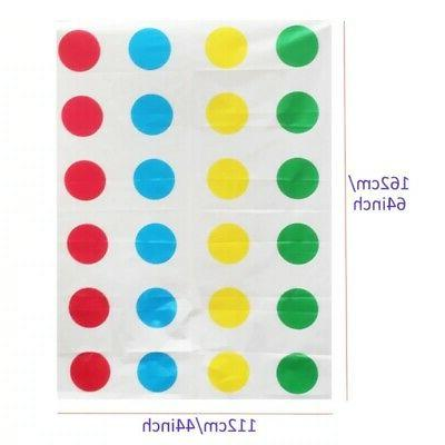 Fun Twister Educational Toy Game Kids Adult Sports