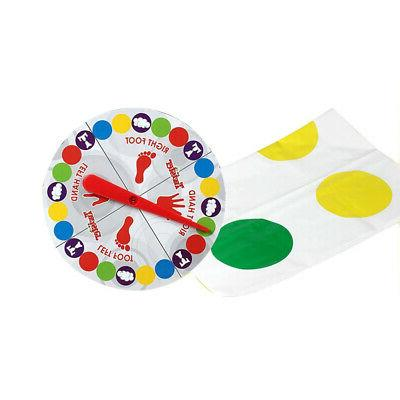 Fun Twister Toy Game Pad for Kids Adult Sports