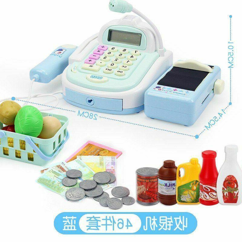 Girls Play Toys Supermarket Kids Cashier Game