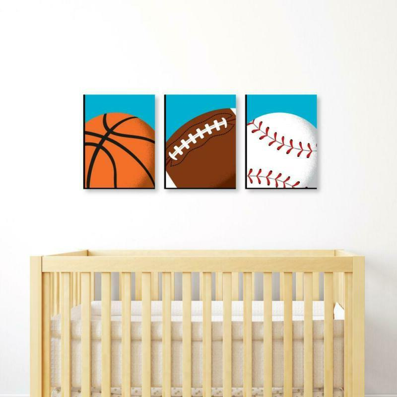 Sports Themed Art, Decor And Room