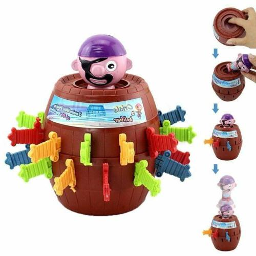 Kids Adults Super Pop Up Toy Jumping Pirate Board Game Funny