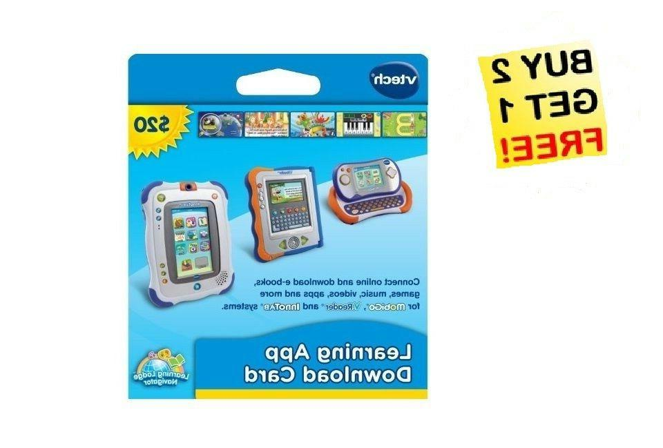 NEW! VTech Learning Application Download Card-InnoTab, MobiG