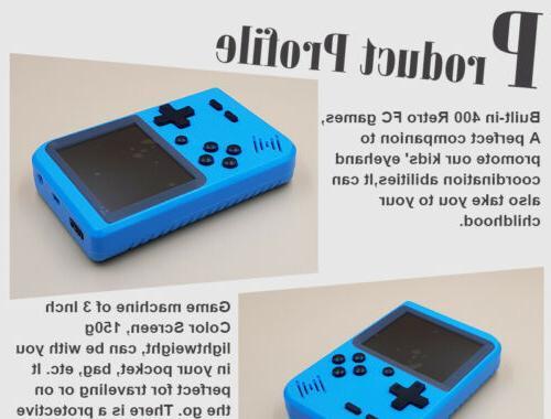 Mini Retro Handheld Console System Xmas Classic Player