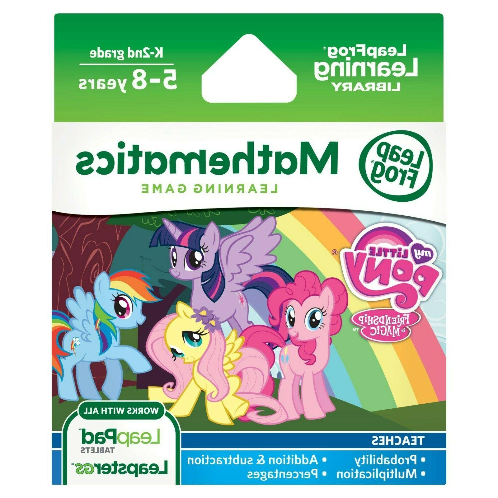 my little pony for leappad leapstergs math