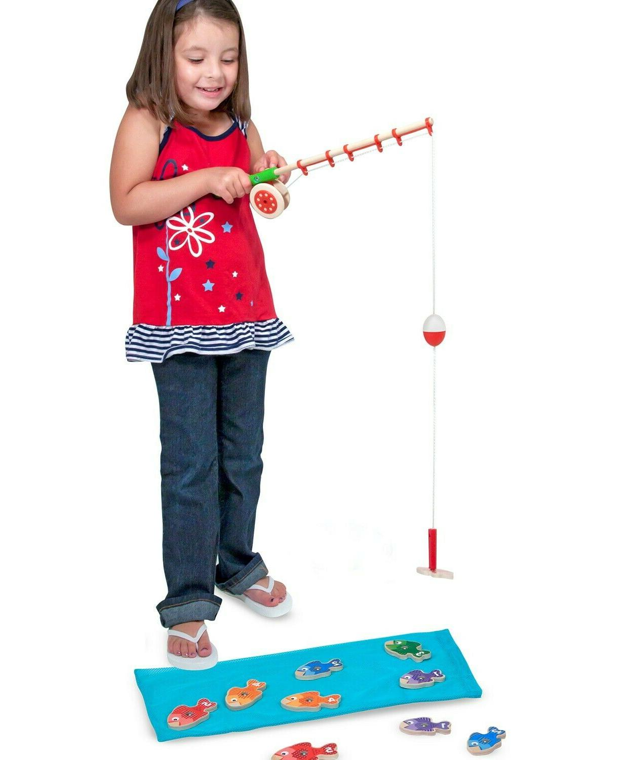 NEW Melissa Catch & Count Fishing Game, Fun Game Kids, FREE SHIPPING