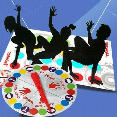NEW Twister Game Funny Kids Family Body Twister Moves Mat Bo