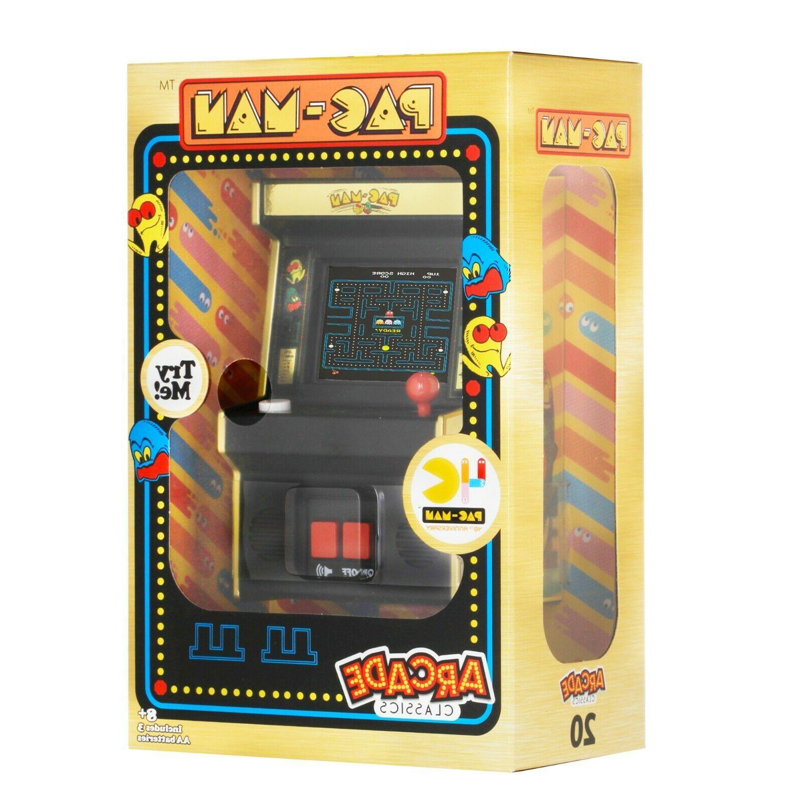 Arcade Classics Pac-Man™ 40th Aniversary Retro Mini Arcade Game - Gold Edition