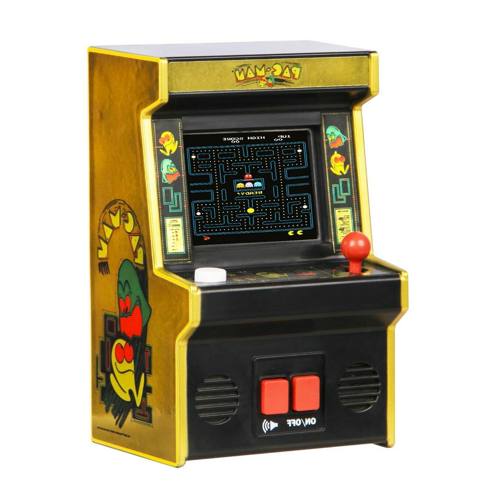 pac man 40th aniversary retro mini arcade