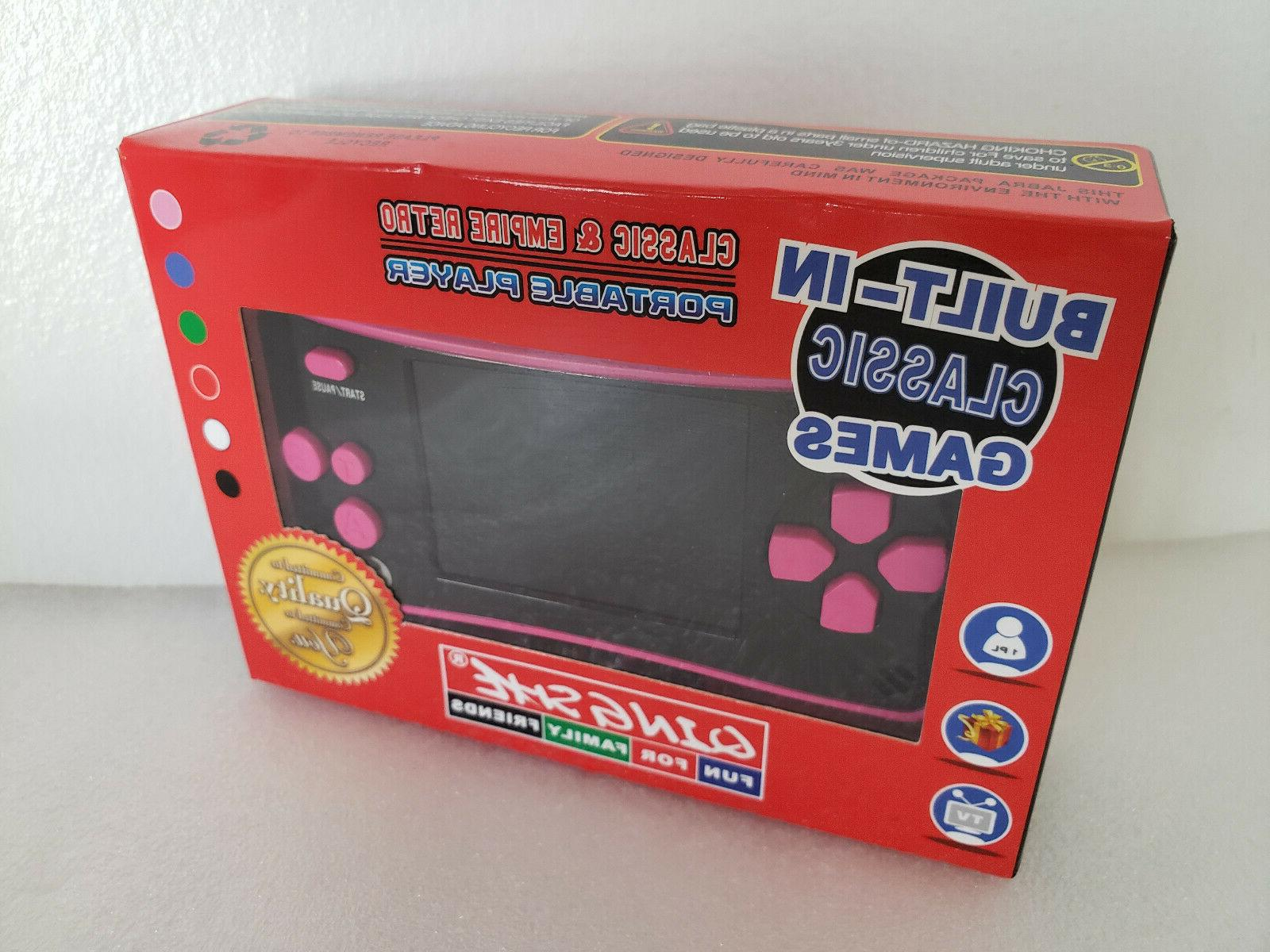 QingShe Portable Games for Kids Built in 182 Games